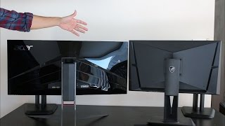Asus PG279Q vs Acer X34 Predator   The 2 Best Gaming Monitors Go Head to Head