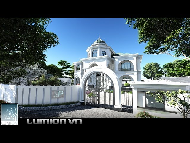 Villa Long Thanh | Free Download 3d lumion models