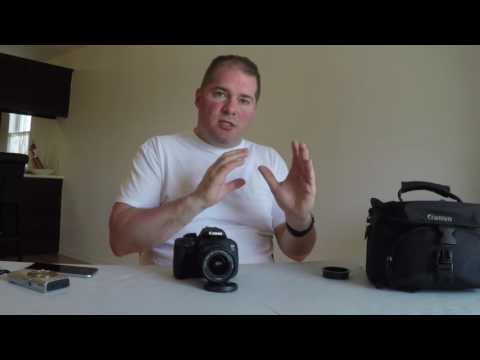 How to use a DSLR for beginners (Canon T5i)