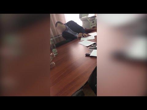 Смотреть Потерял сознание: появилось видео задержания начальника Белорецкого лесничества онлайн