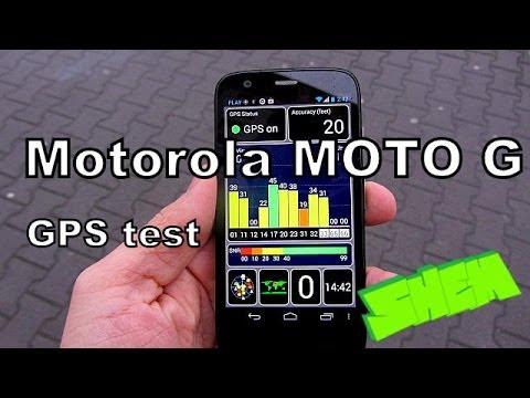 Motorola Moto G-  GPS test