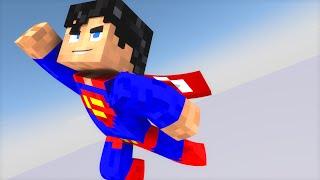 5 COISAS QUE O SUPER-MAN FARIA NO MINECRAFT!