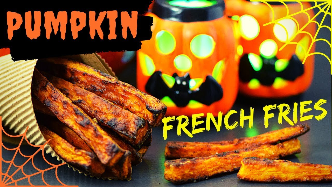 Pumpkin French Fries (No-Guilt Halloween Treat)