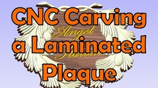 Making A Laminated Plaque With Cnc; Andrew Pitts-furnituremaker