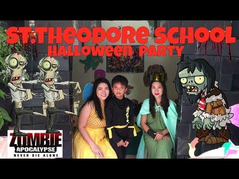 ST THEODORE SCHOOL HALLOWEEN PARTY ANG SAYA SAYA!!