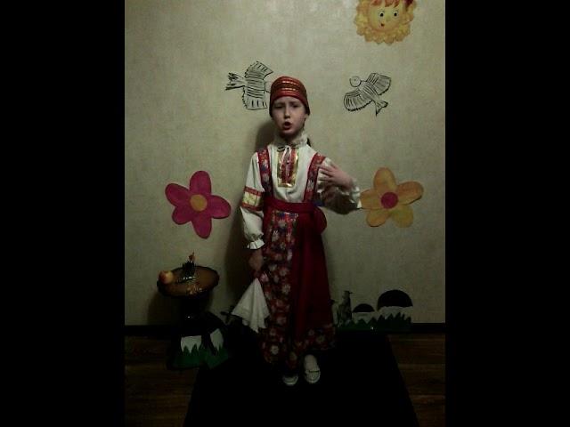 Изображение предпросмотра прочтения – ЕкатеринаГалкина читает произведение «Топ-топ, топотушки» (Русский фольклор )