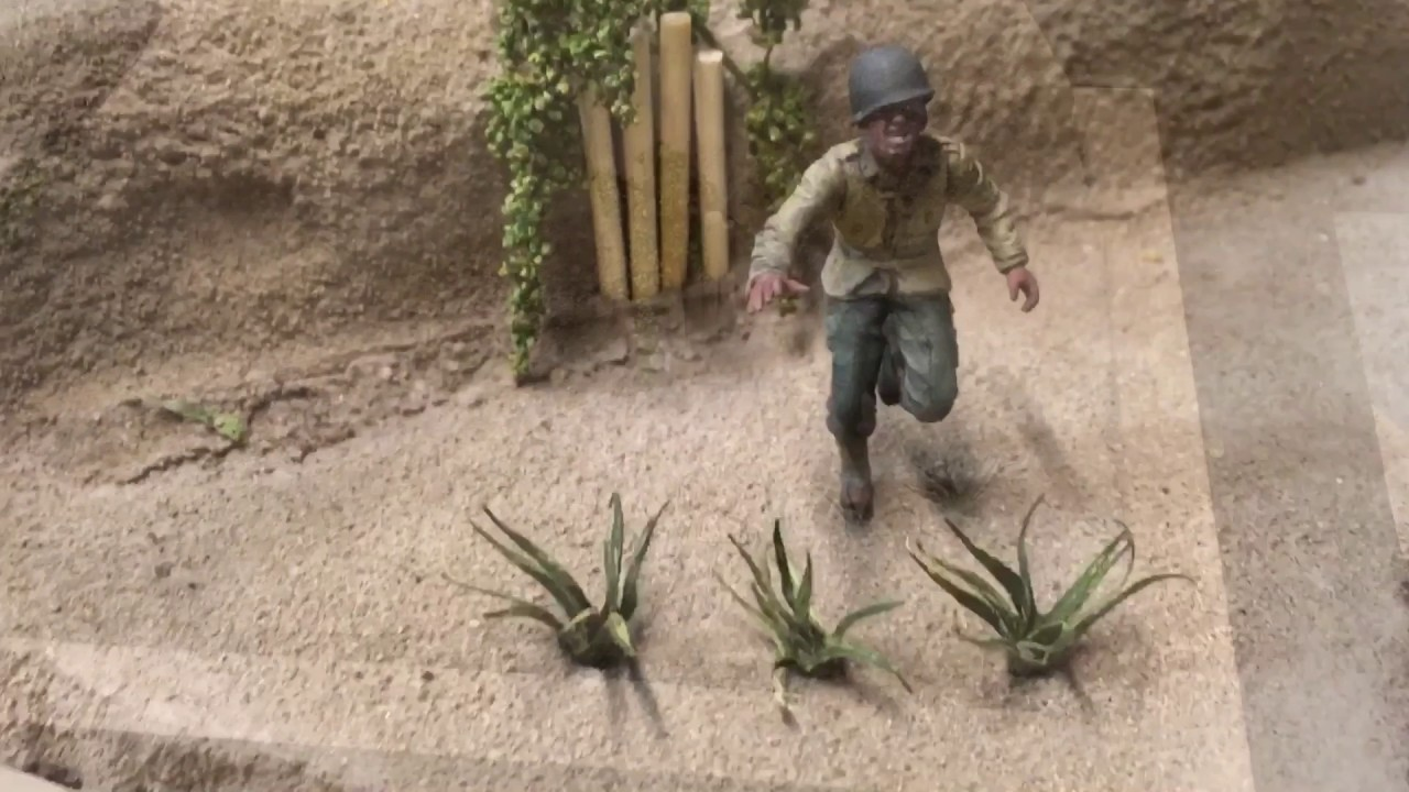 how to make a plant diorama