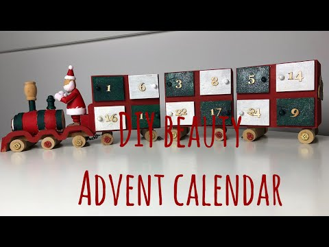DIY Beauty Advent Calendar | Melanie Kate