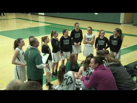 Manchester-Essex vs Latin Academy Girls Playoff Basketball ~ 3/2/17