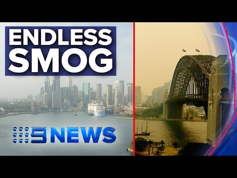 Fire Smog Turning Sydney-siders Into 'pack-a-day Smokers' | Nine News Australia