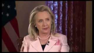 FULL  Charlie Rose, Hillary Rodham Clinton, James A  Baker 360p