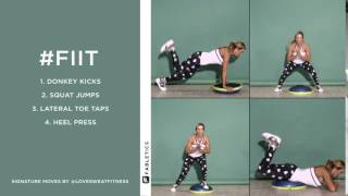 FIIT | 4 Bosu ball moves to blast calories