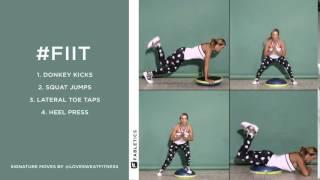 FIIT | 4 Bosu ball moves to blast calories