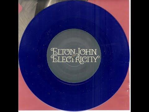 Elton John - Electricity (Blue Vinyl 2006) With Lyrics!