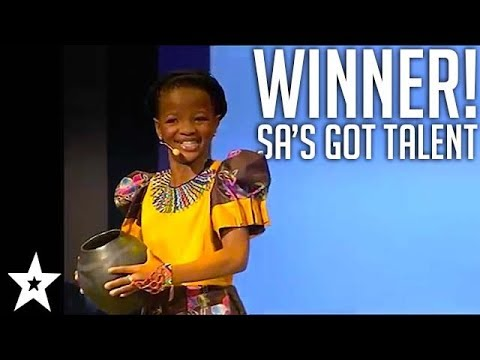 Kid Poet Bothale Boikanyo WINNER Of SA's Got Talent 2012 | All Auditions & Performances