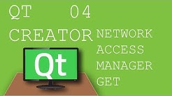 QT Creator 04 Using Network Access Manager to make Get request