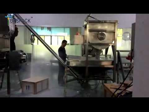Powder Mixer+Screw Feeder