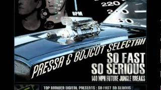 So Fast So Serious[140Mph Future Jungle Breaks]Digitally Mashed Promo Mix