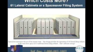High Density File Shelving Vs Lateral File Cabinet Systems