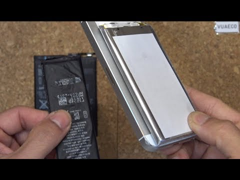 DIY iPhone battery hack: install a massive external (laptop) battery that can last for weeks!