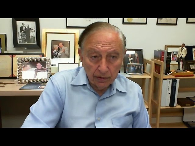 Dr. Robert Gallo Speaks About Re-Purposing Polio Vaccine in the War Against COVID-19