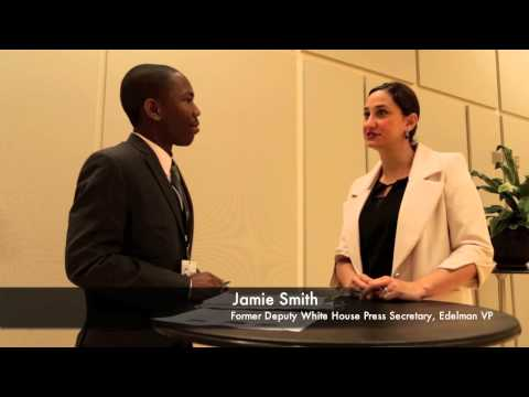 White House Deputy Press Secretary Interview w/ Jamie Smith