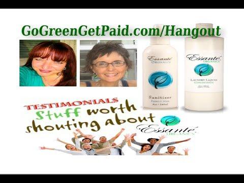Sanitizer & Laundry Liquid Essante Organics Testimonials Tuesdays Hangout