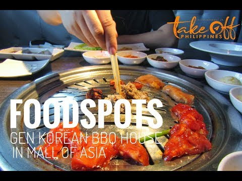 Foodspots: GEN Korean BBQ House in Mall of Asia