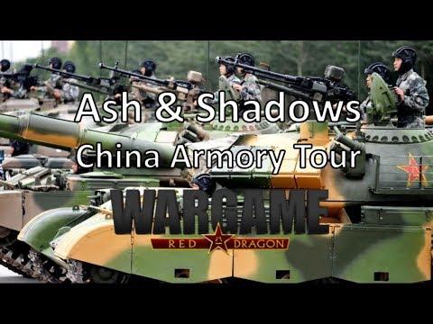 Wargame Red Dragon - Ash & Shadows - China Armory Tour