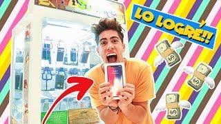 GASTÉ $1000 USD EN MAQUINA DE GANAR IPHONE Y ME LO GANÉ !!?