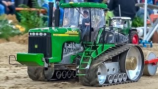AMAZING RC tractors in 1:16 scale! BIG R/C tractor ACTION!