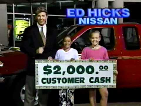 Hannah Hicks and Lesley Berry-Nissan Commercial 1998 - YouTube