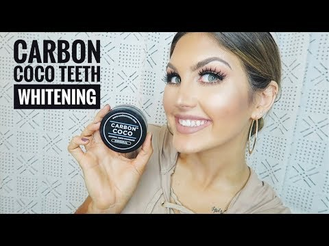 Carbon Coco Teeth Whitening! | Paige Danielle