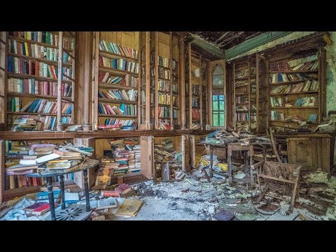 Abandoned Famous Poets Library - Rare First Edition Books Inside!