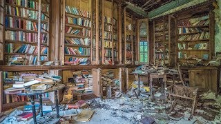 Abandoned Famous Poets Library - Rare First Edition Books Inside! thumbnail