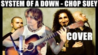 System of a Down - Chop Suey - Guitar Percussion Cover