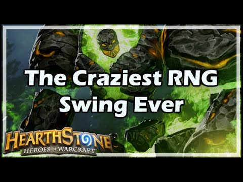 [Hearthstone] The Craziest RNG Swing Ever