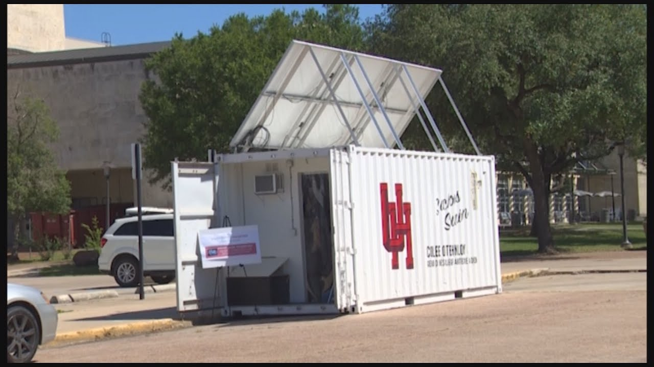 Best Kitchen Gallery: Shipping Container Turned Into Puter Lab Youtube of Lab Shipping Container on rachelxblog.com