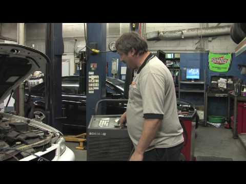 Car Maintenance Tips : How to Add Freon to a Car