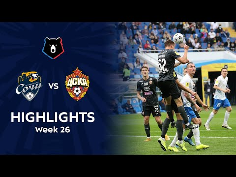 Sochi CSKA Moscow Goals And Highlights