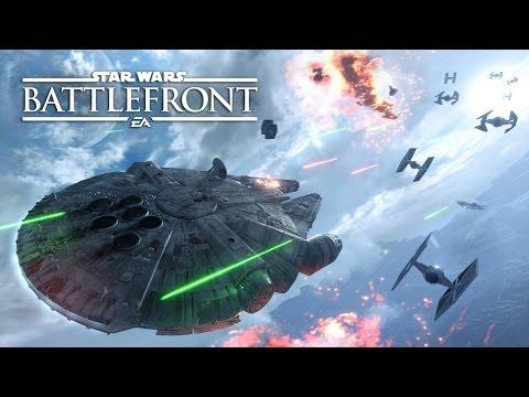 Star Wars Battlefront - ¡Derribamos el Halcón Milenario!