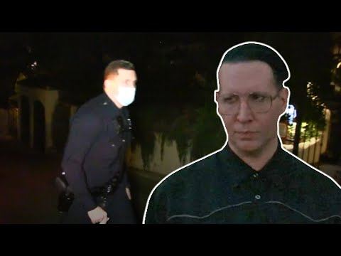 Police Respond To Marilyn Manson's House For Welfare Check