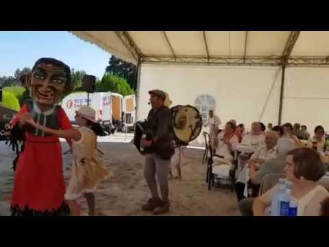 Cé Orquestra Pantasma ameniza la Feira Indiana de Santaballa
