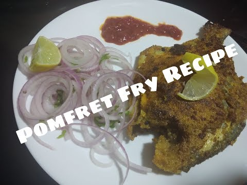 Pomfret fry  Easy and quick recipe Kavita Patil