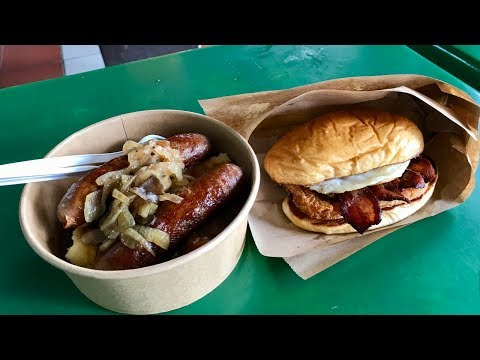 BRITISH FOOD in a Singapore hawker centre!