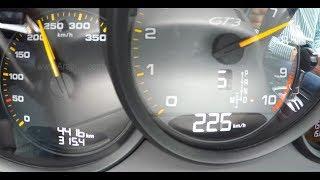 Porsche 911 GT3 Acceleration 2018 تسارع بورش 911 جي تي 3