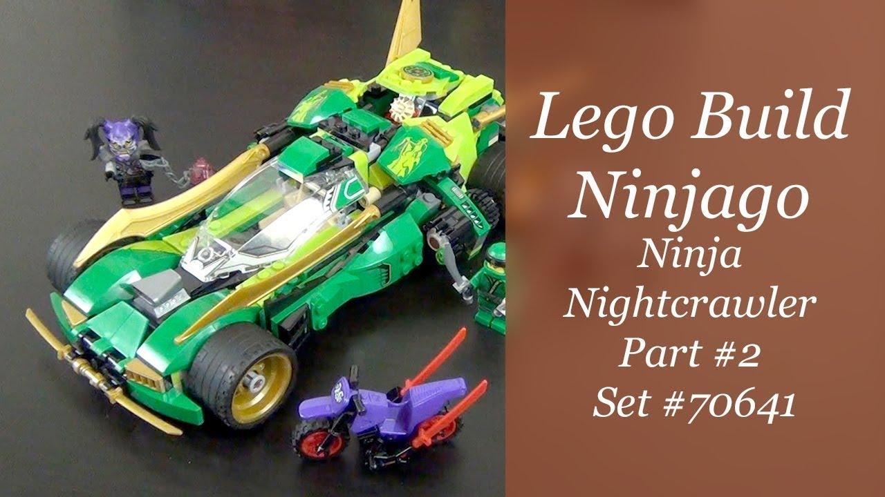 Lego Ninjago Build Ninja Nightcrawler Set 70641 Part 2 Youtube