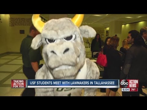 USF students bus to Tallahassee to give lawmakers a piece of their minds