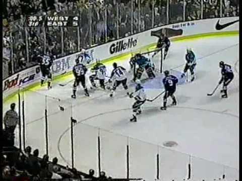 FoxTrax: 1996 NHL All-Star Game Third Period Highlights