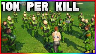 GTA 5 Online: New $10k Modded  Capture Mission! [GTA 5 Money Glitch 1.41]
